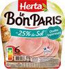 LE BON PARIS jambon -25% de sel - Produkt