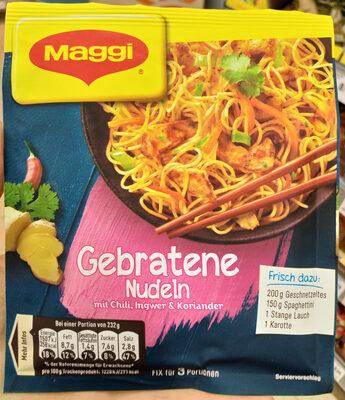 Gebratene Nudeln - Produit - fr