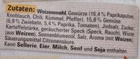 Ungarische Gulasch - Zutaten - de