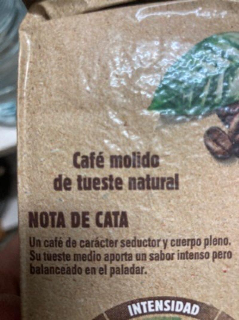 Café - Nutrition facts - es