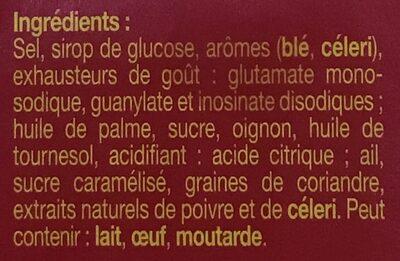 KUB OR bouillon - Ingredients - fr
