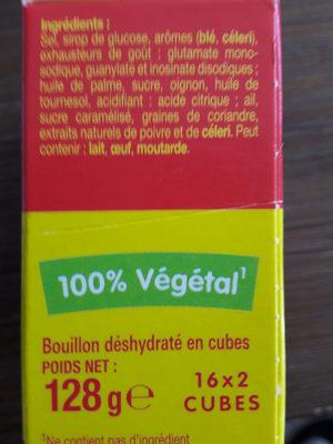 kub  or maggi - Ingrediënten