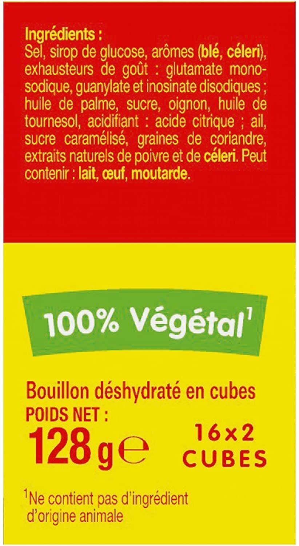 Kub Or - Maggi - Ingrédients - fr