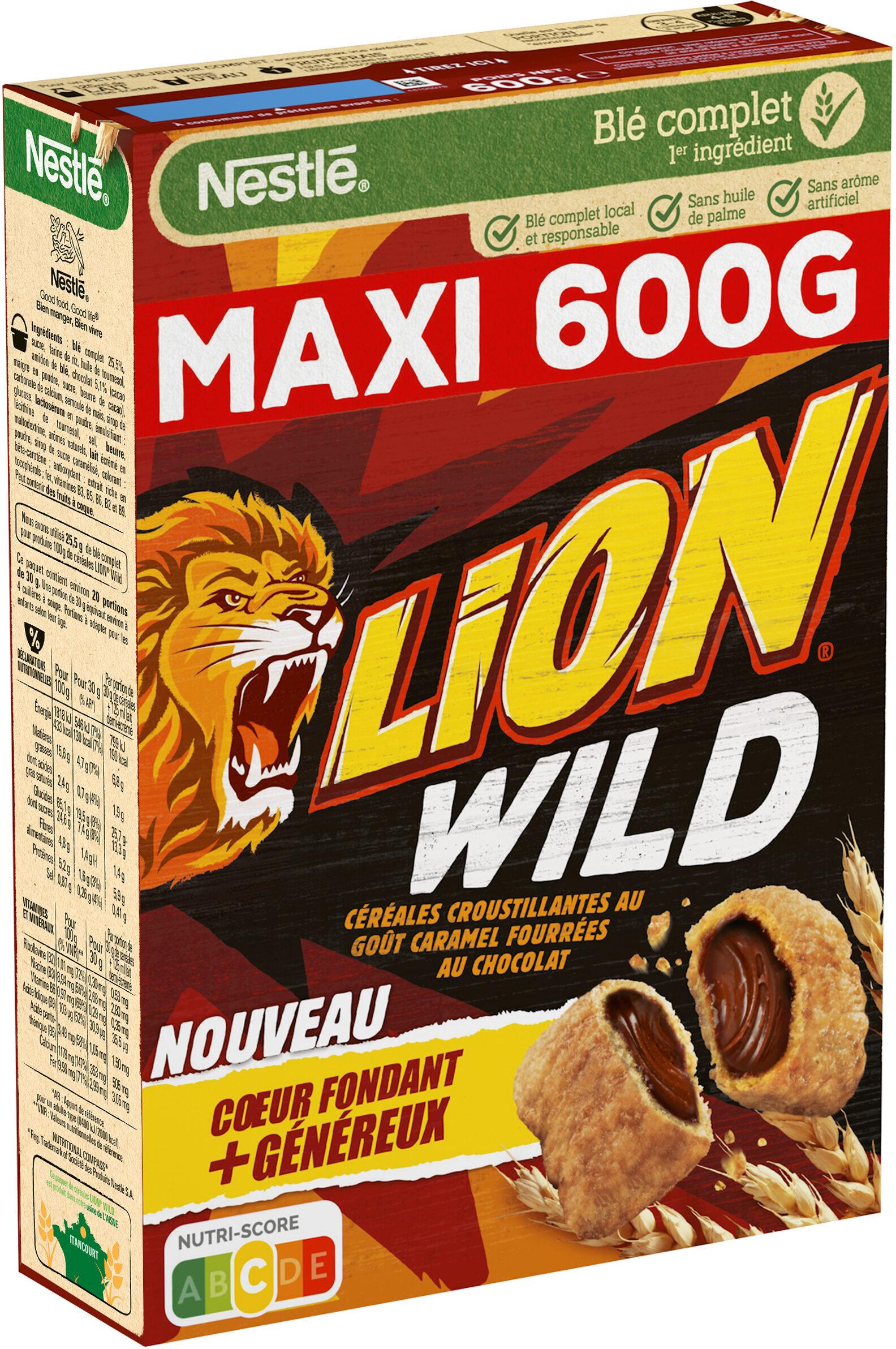 NESTLE LION WILD Céréales - Product - fr