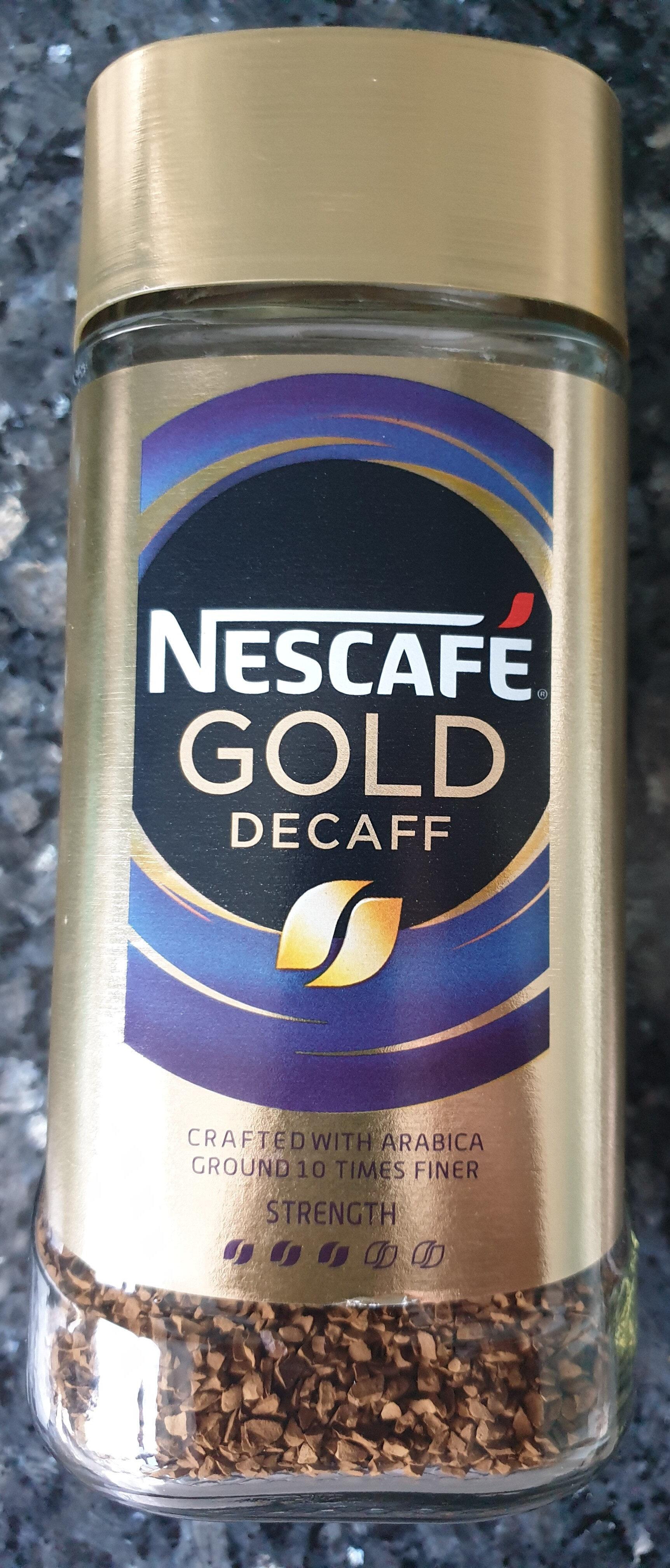 Nescafé Gold Blend Decaff - Prodotto - en