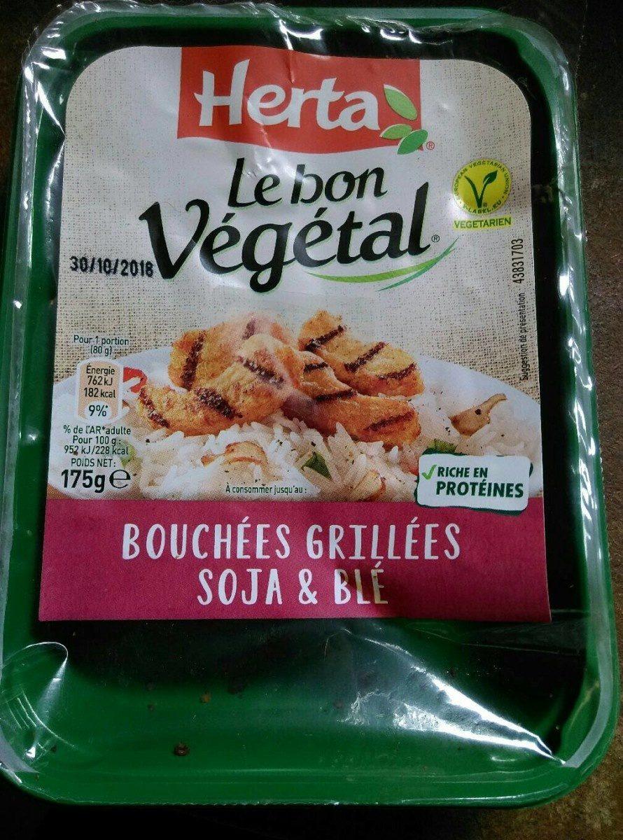 Bouchées grillées soja & blé - Product - fr