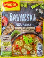 Bavarska pileća supa sa griz knedlama - Product - sr