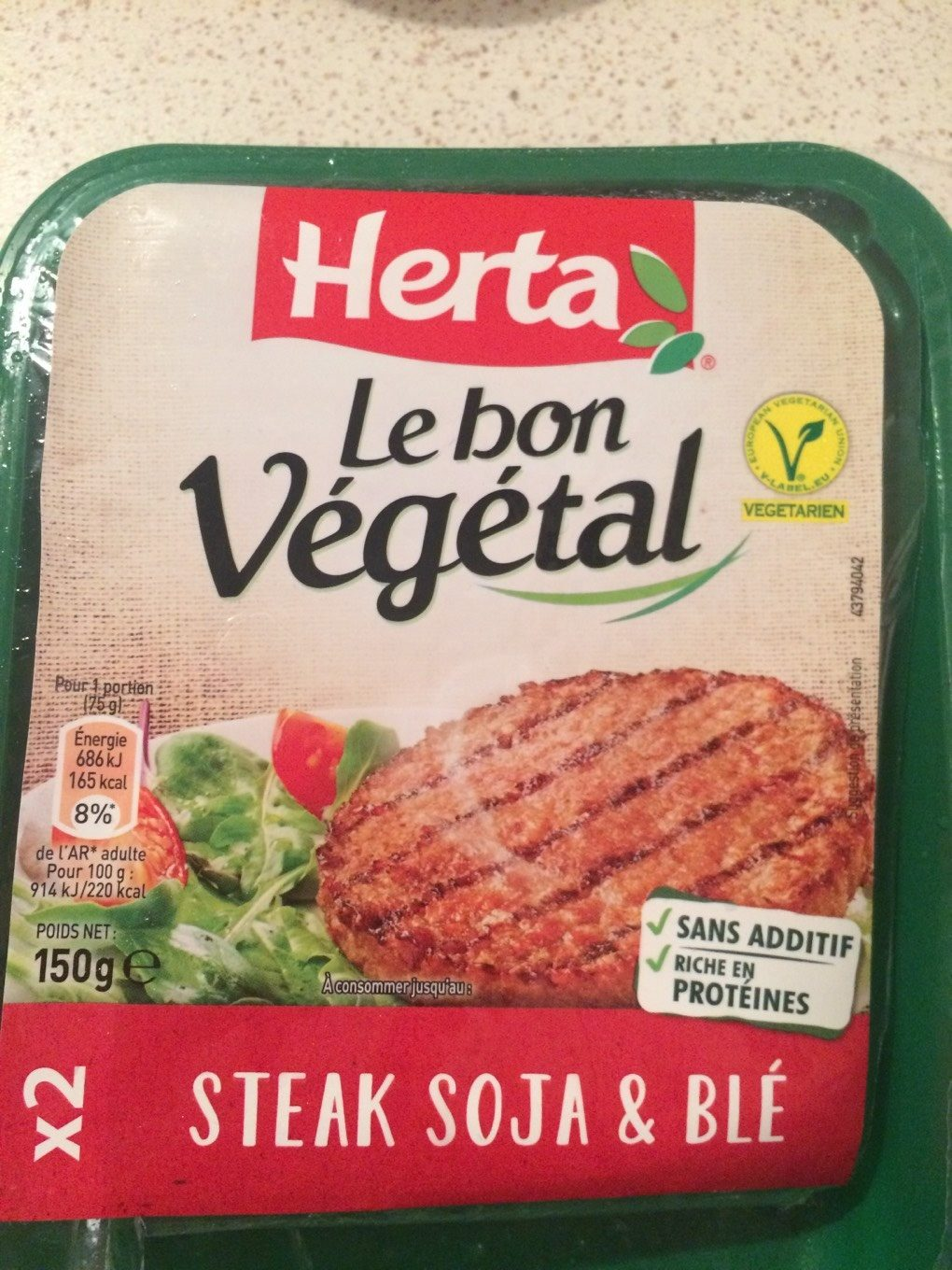 Steak Soja & Blé - Product