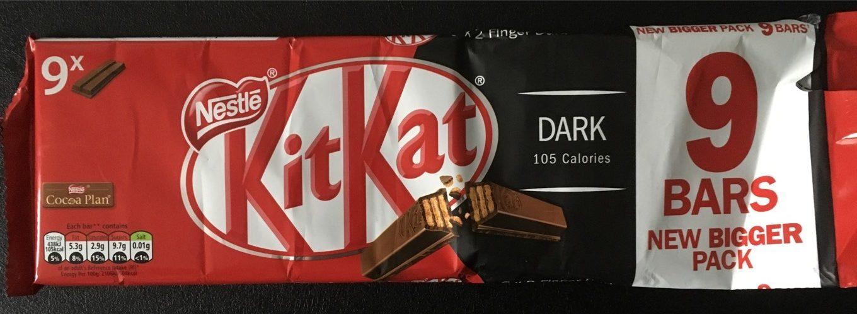 Kitkat Dark Chocolate Biscuit Bar - Product - en