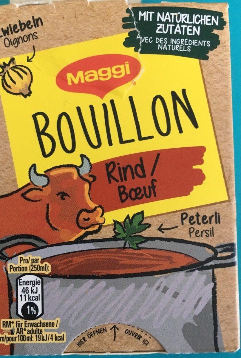 Bouillon boeuf - Prodotto - fr