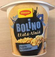 Bolino Etats-Unis Pasta&Cheese - Product