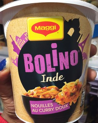 Bolino Inde Nouilles au Curry Doux - Produit - fr