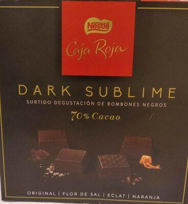 Dark sublime: surtido de bombones