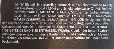 Mövenpick Stracciatella - Ingredienti - de