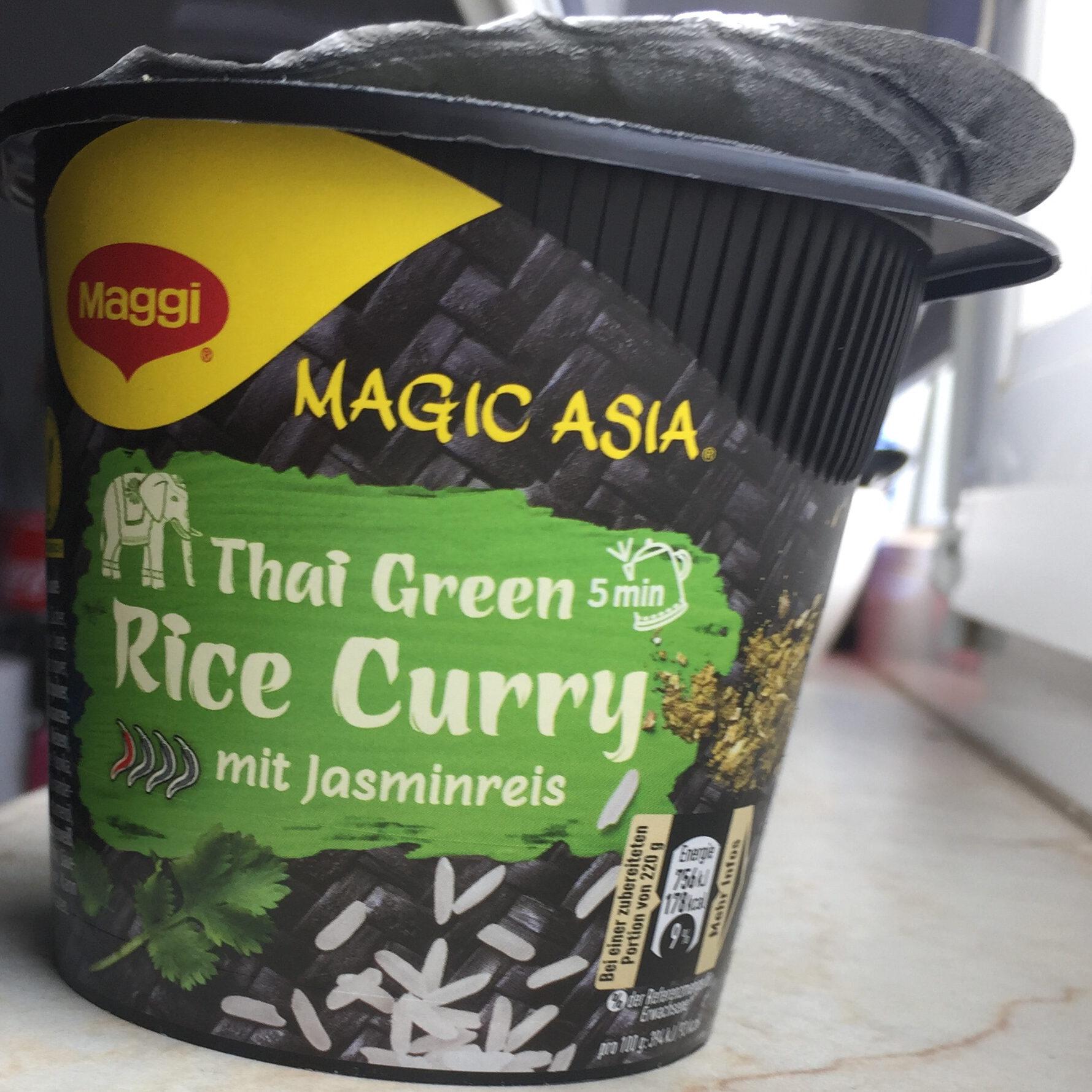 Magic Asia Thai Green Rice Curry mit Jasminreis - Product