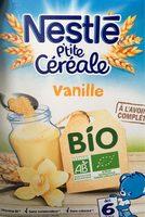P'tite Céréale Bio Vanille - Product