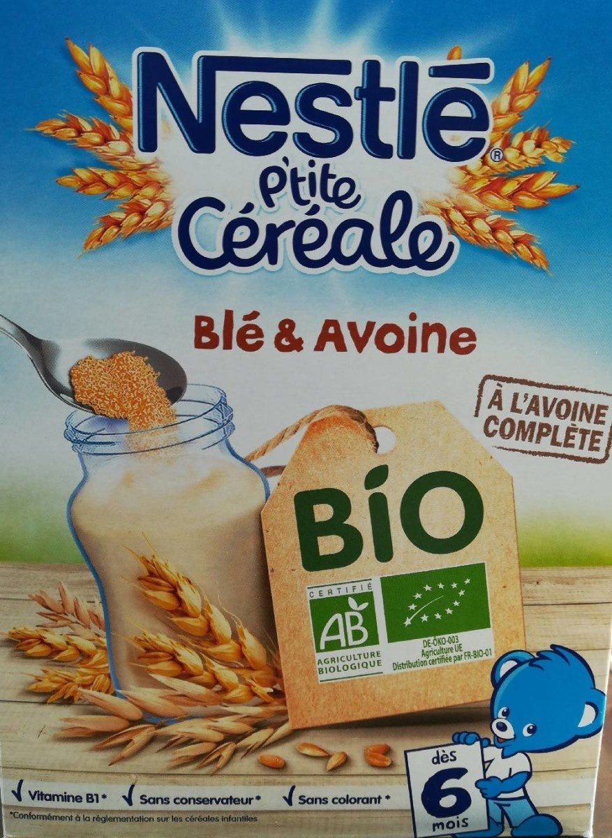 Nestlé P'tite Céréales Blé et Avoine - Prodotto - fr