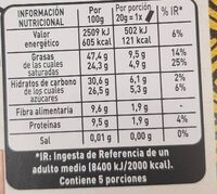 Nestlé Chocolate Negro 70% Afrutado L'atelier - Información nutricional