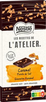 RECETTES DE L'ATELIER Chocolat noir caramel - Produit - fr
