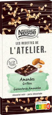 RECETTES DE L'ATELIER Chocolat noir amande - Produit - fr