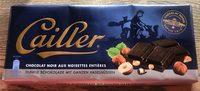 Chocolat noir aux noisettes entières - Product