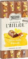 NESTLE L'ATELIER Chocolat au Lait Amandes Citron - Prodotto - fr