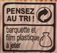 Bacon fumé - Recycling instructions and/or packaging information - fr