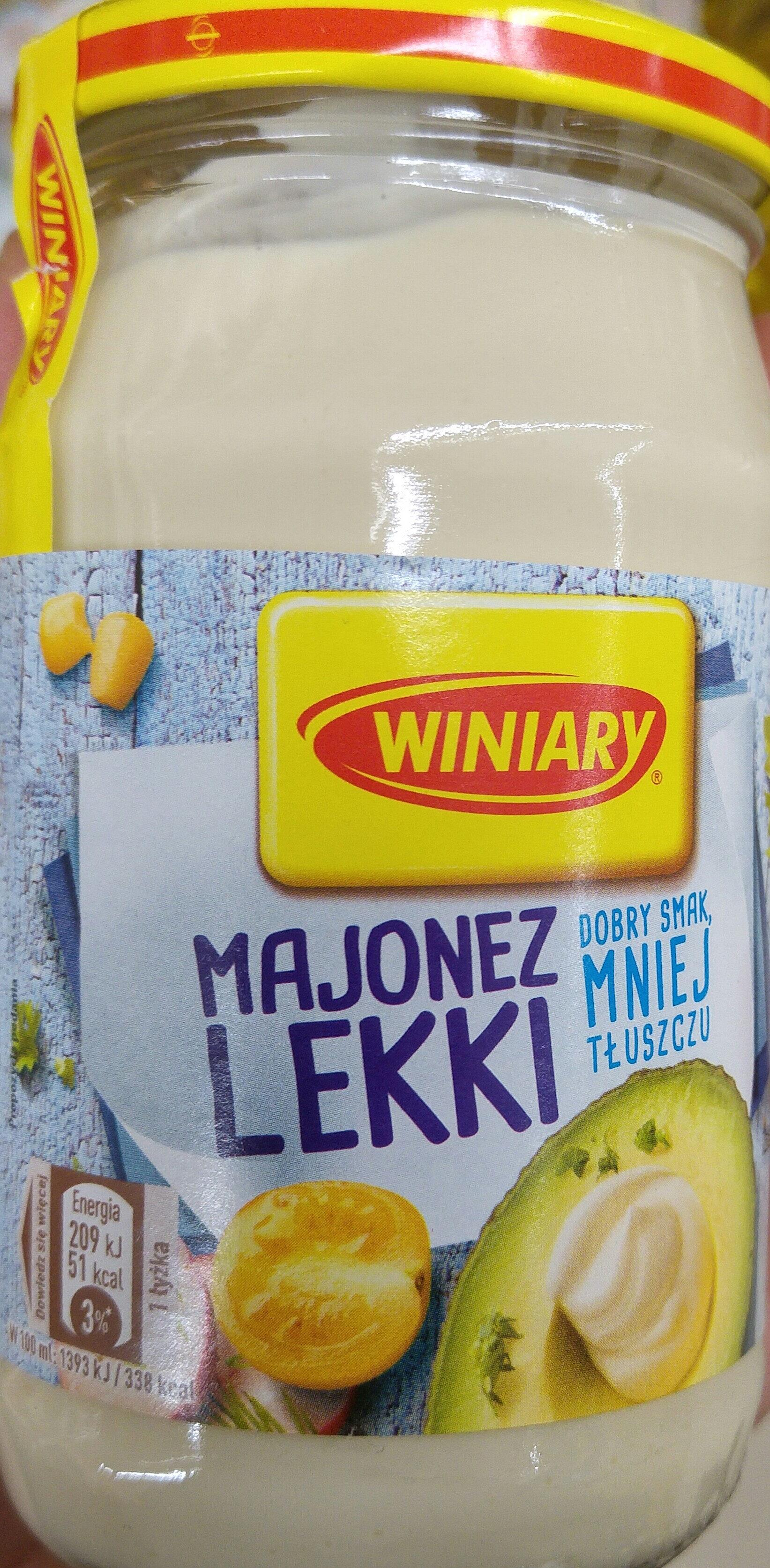 Majonez lekki - Produkt - pl