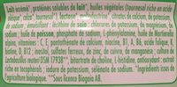 GUIGOZ 1 BIO Optipro 800g 1er âge dès la Naissance - Ingrédients - fr