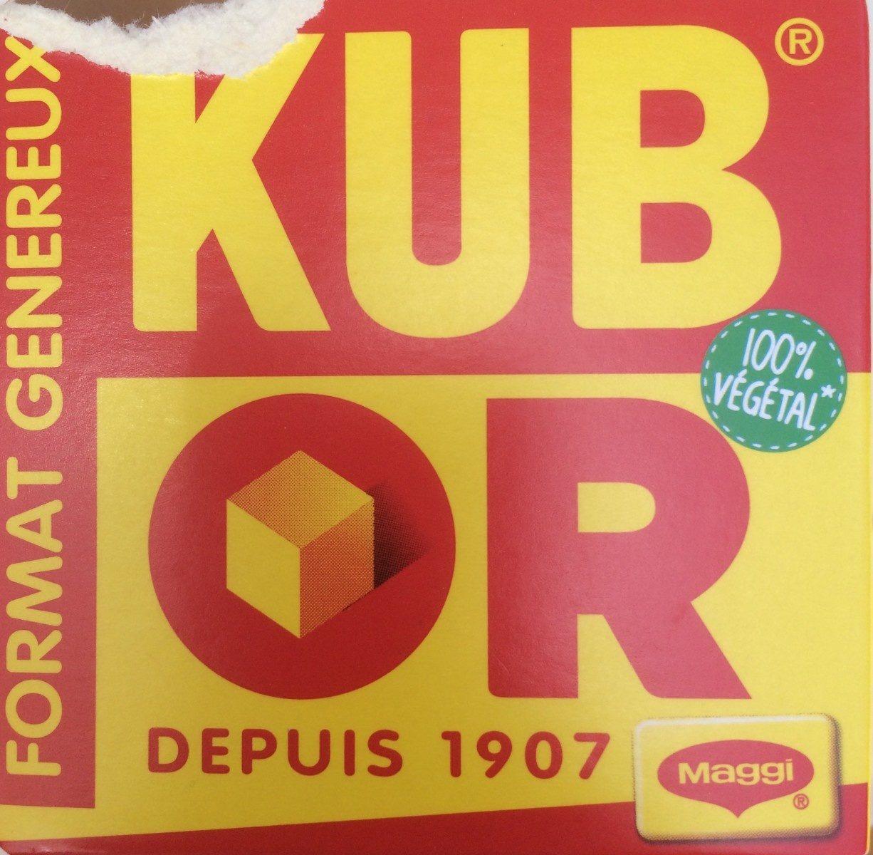 Kub Or, format généreux - Maggi - Product - fr