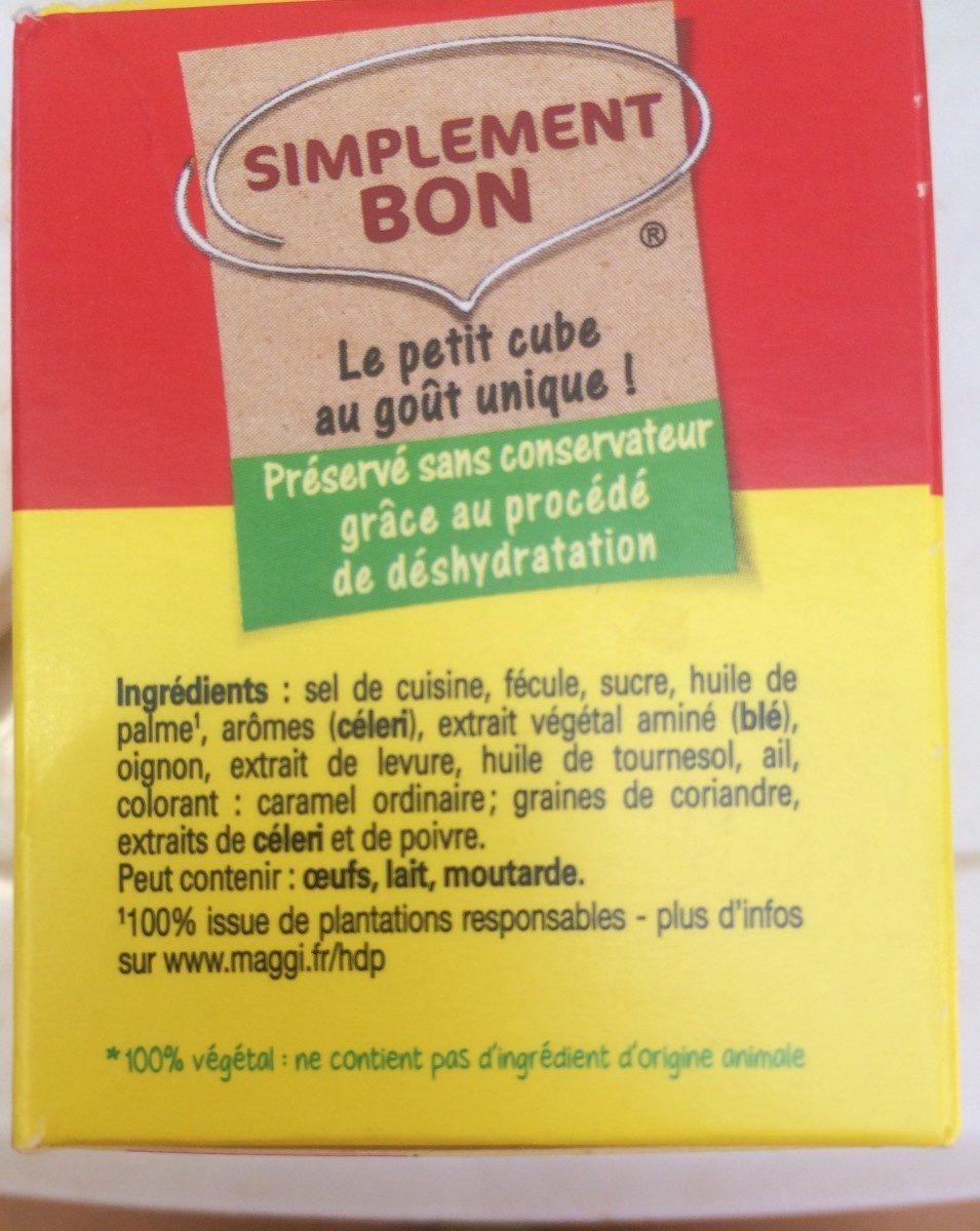 Kub Or, format généreux - Maggi - Ingrediënten - fr