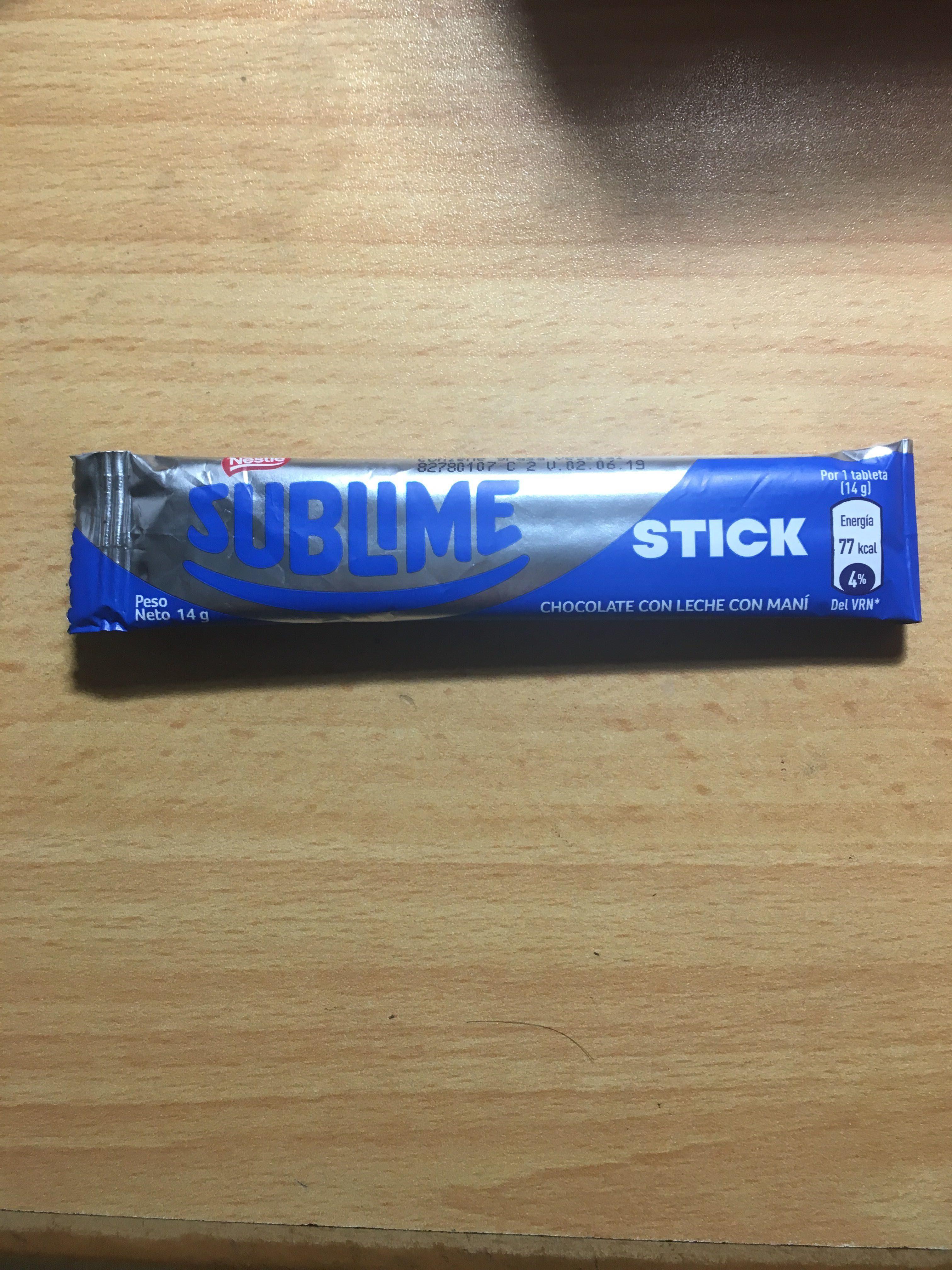 Nestle Sublime Stick - Product - es
