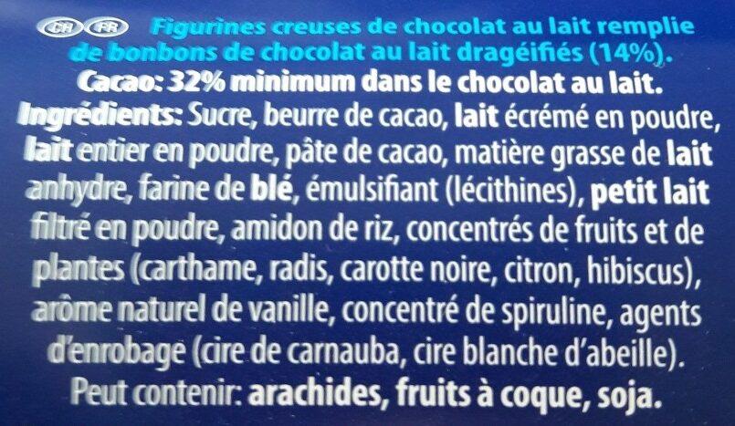 Smarties - Ingrédients - fr