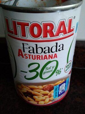 Fabada asturiana -30%baja en sal y grasas - Продукт - es