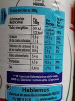 Fabada asturiana -30%baja en sal y grasas - Хранителна информация - es
