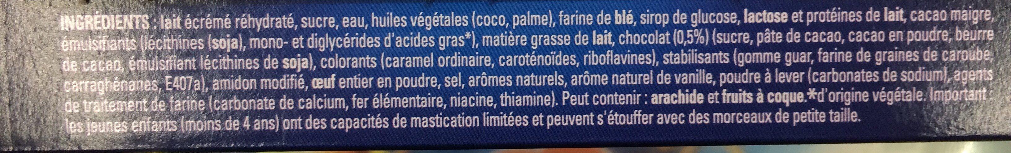 Glace cookie - Ingredienti - fr