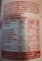 Fraise Bio infusée - Voedingswaarden