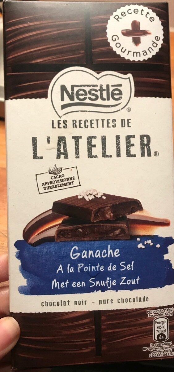 Ganache a la Pointe de Sel - Produit - fr