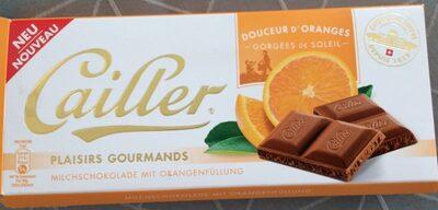 Milchschokolade mit orangenfullung - Product - fr
