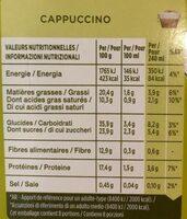 DOLCE GUSTO cappuccino - Valori nutrizionali - fr