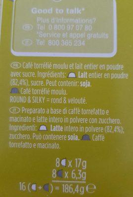 Dolce Gusto - Ingrédients - fr