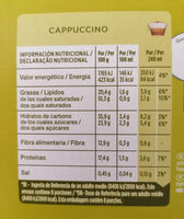 Dolce Gusto - Informations nutritionnelles - es