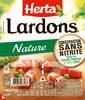 HERTA Lardons nature cons.sans nitrite - Product