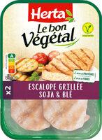 LE BON VEGETAL Escalope grillée soja et blé - Prodotto - fr