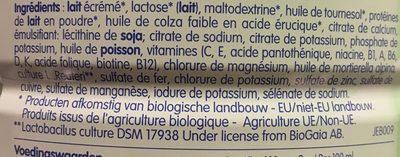 Optipro Bio 3ème age - Ingrediënten