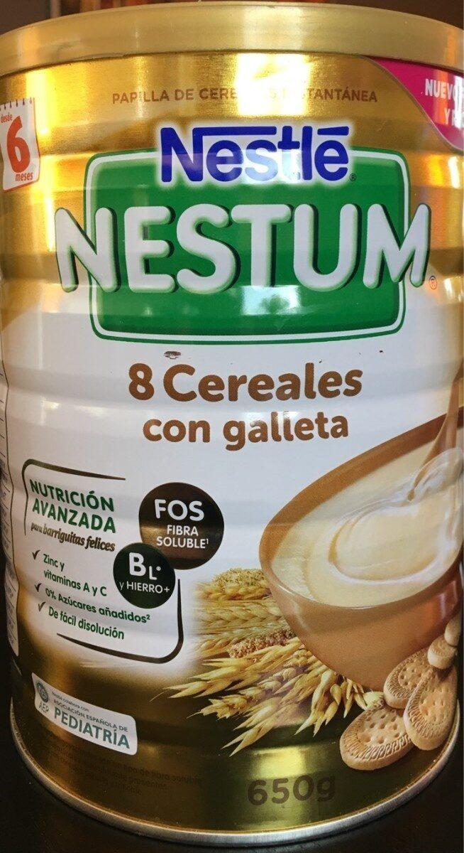8 cereales con galleta 6 meses - Prodotto - es