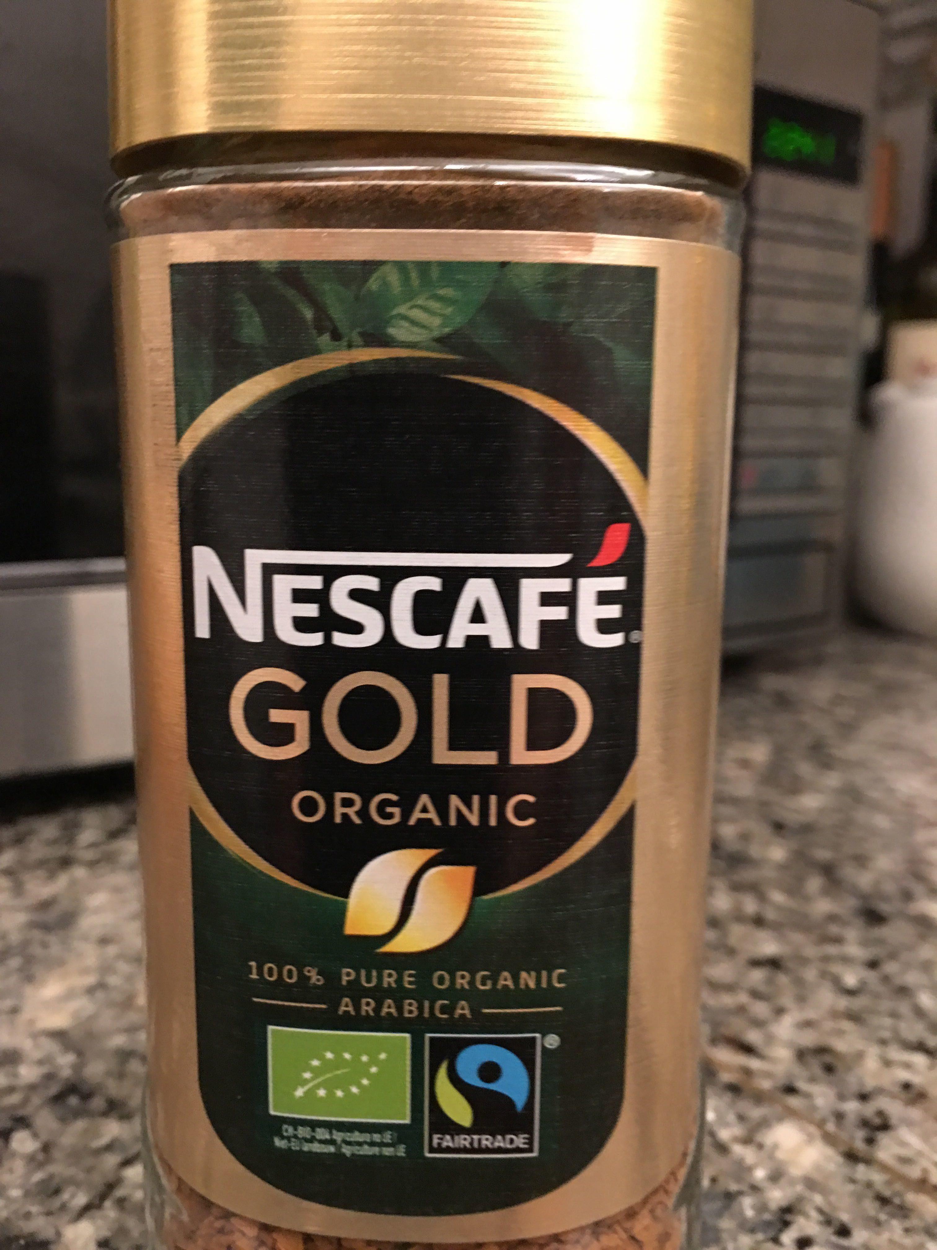 Gold Organic café soluble 100% arábica - Produit - en