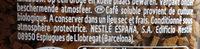 Gold Organic café soluble 100% arábica - Ingrediënten