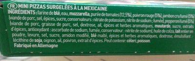 Piccolinis - Ingrédients