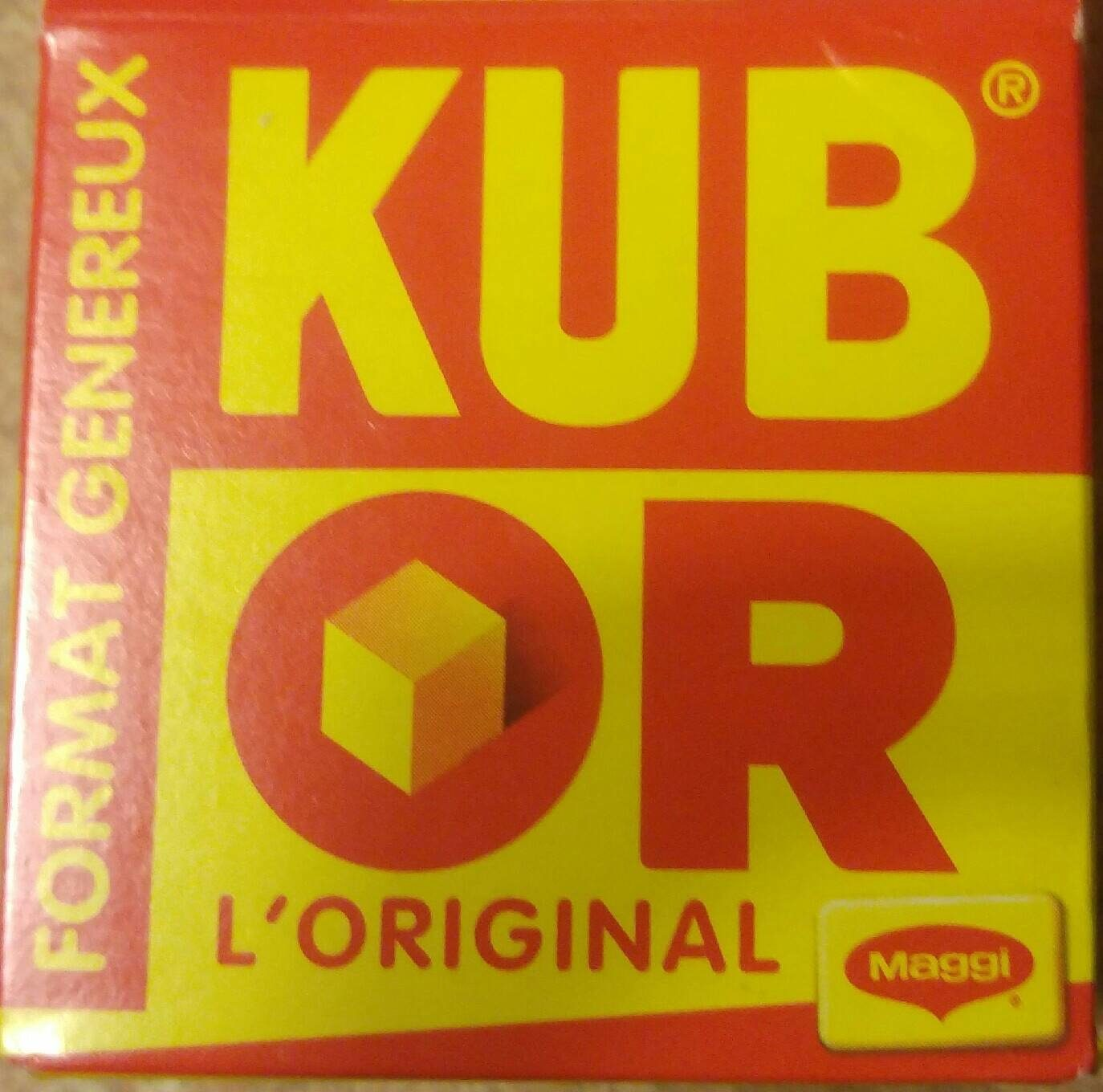 Kub Or, l'Original - Maggi - Product - fr